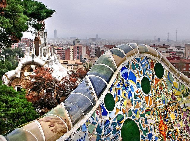 Park-Güell,-Barcelona